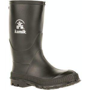Kamik Stomp Black Rainboots
